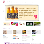innocent drinks UK site