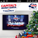 Capital's Secret Santa with BlackBerry